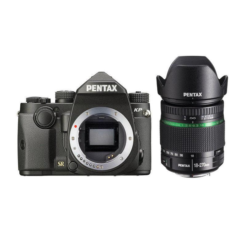 Pentax KP DSLR Zwart + 18-270mm objectief