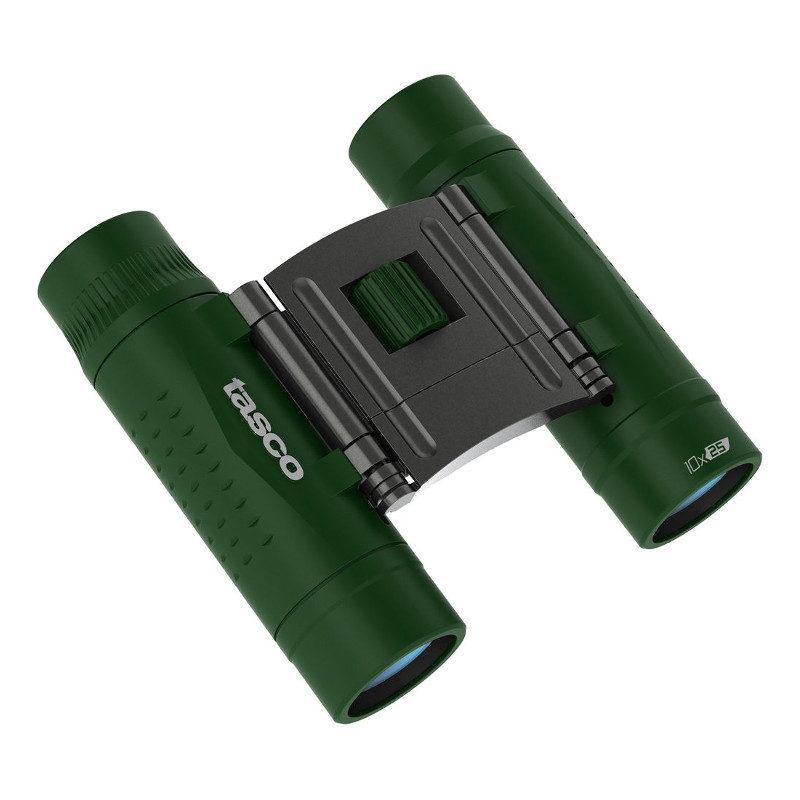 Tasco 10×25 Essentials 2016 dakkant verrekijker Groen met korting