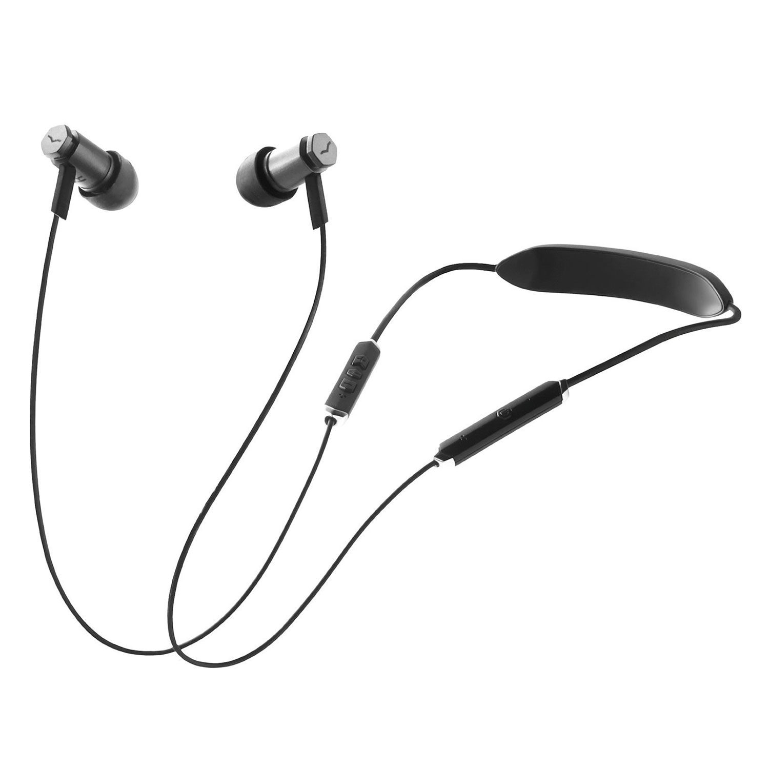V-Moda Forza Metallo Wireless In-Ear koptelefoon Gunblack