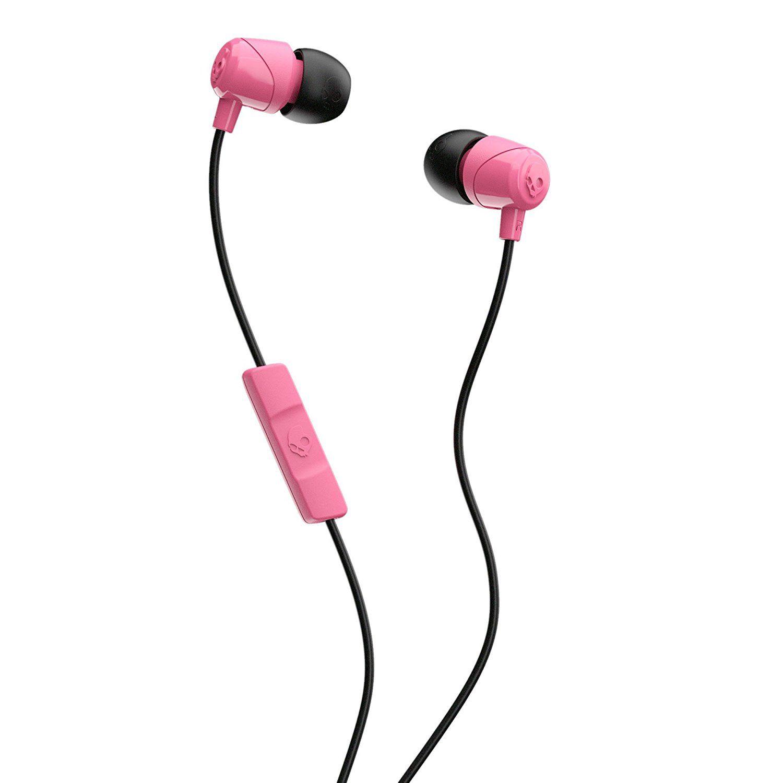 Skullcandy JIB in ear oordoppen roze
