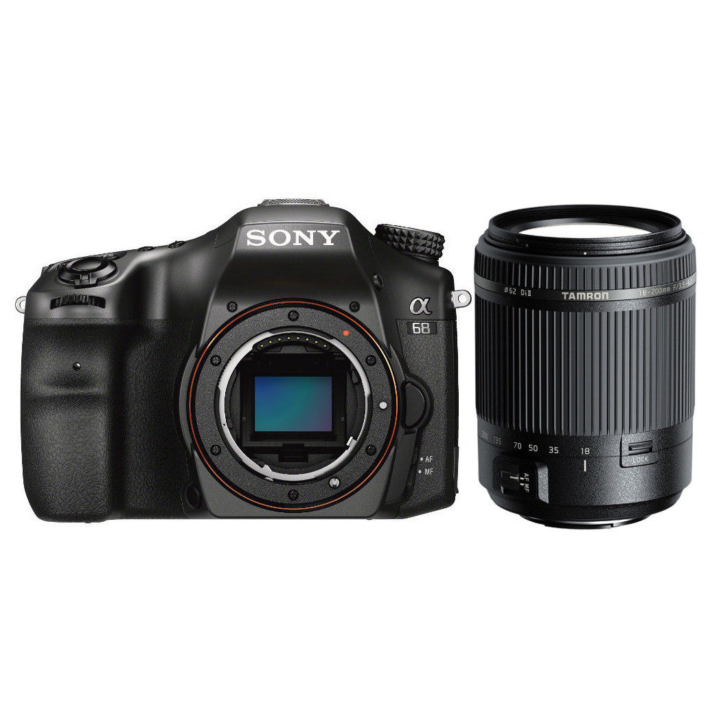 Sony Alpha SLT A68 DSLR + Tamron 18-200mm <br/>€ 569.00 <br/> <a href='https://www.cameranu.nl/fotografie/?tt=12190_474631_241358_&r=https%3A%2F%2Fwww.cameranu.nl%2Fnl%2Fp2506295%2Fsony-alpha-slt-a68-dslr-tamron-18-200mm%3Fchannable%3De10841.MjUwNjI5NQ%26utm_campaign%3D%26utm_content%3DSony%2Bspiegelreflexcamera%26utm_source%3DTradetracker%26utm_medium%3Dcpc%26utm_term%3DDigitale%2Bcamera%26apos%3Bs' target='_blank'>naar de winkel</a>