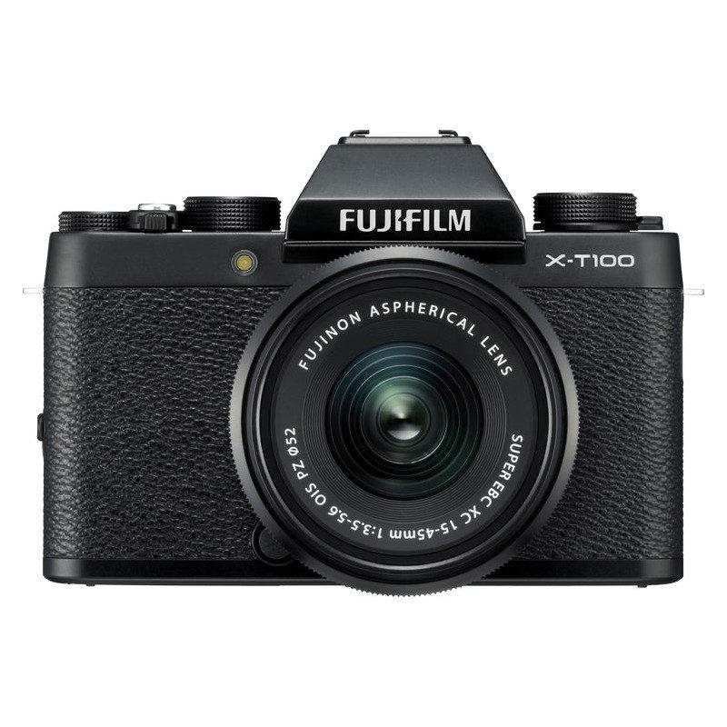 Fujifilm X-T100 systeemcamera Zwart + XC 15-45mm <br/>€ 499.00 <br/> <a href='https://www.cameranu.nl/fotografie/?tt=12190_474631_241358_&r=https%3A%2F%2Fwww.cameranu.nl%2Fnl%2Fp2515765%2Ffujifilm-x-t100-systeemcamera-zwart-xc-15-45mm%3Fchannable%3De10841.MjUxNTc2NQ%26utm_campaign%3D%26utm_content%3DSysteemcamera%26utm_source%3DTradetracker%26utm_medium%3Dcpc%26utm_term%3DDigitale%2Bcamera%26apos%3Bs' target='_blank'>naar de winkel</a>