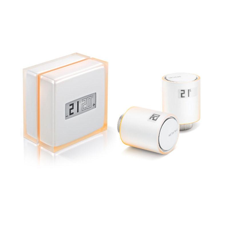 Netatmo Thermostaat + Intelligente Radiatorkranen Startpakket