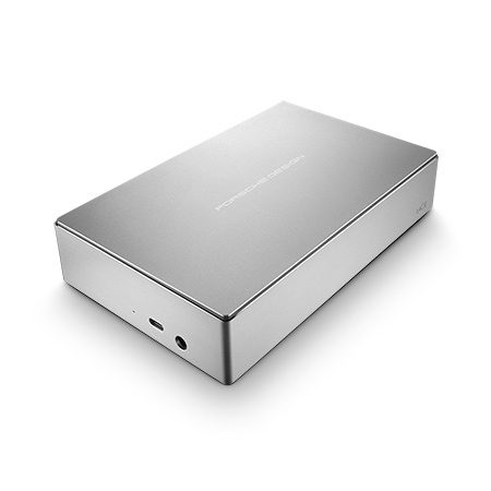 LaCie Porsche Design Desktop 4 TB Externe harde schijf (3.5 inch) USB-C Zilver