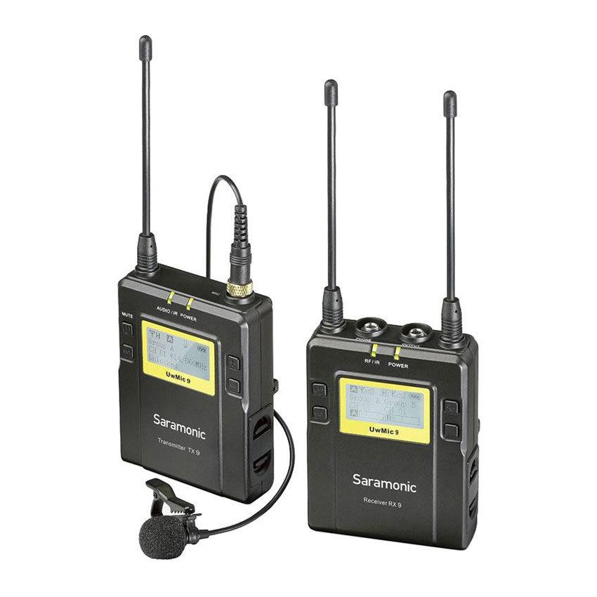 Saramonic UwMic9 TX9 + RX9 Wireless Microphone