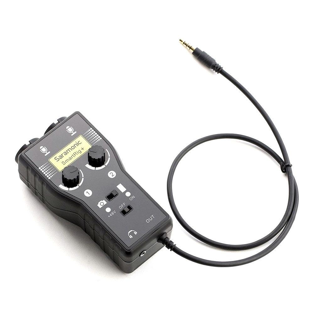 Saramonic Microfoon Adapter SmartRig+ voor DSLR-Smartphone