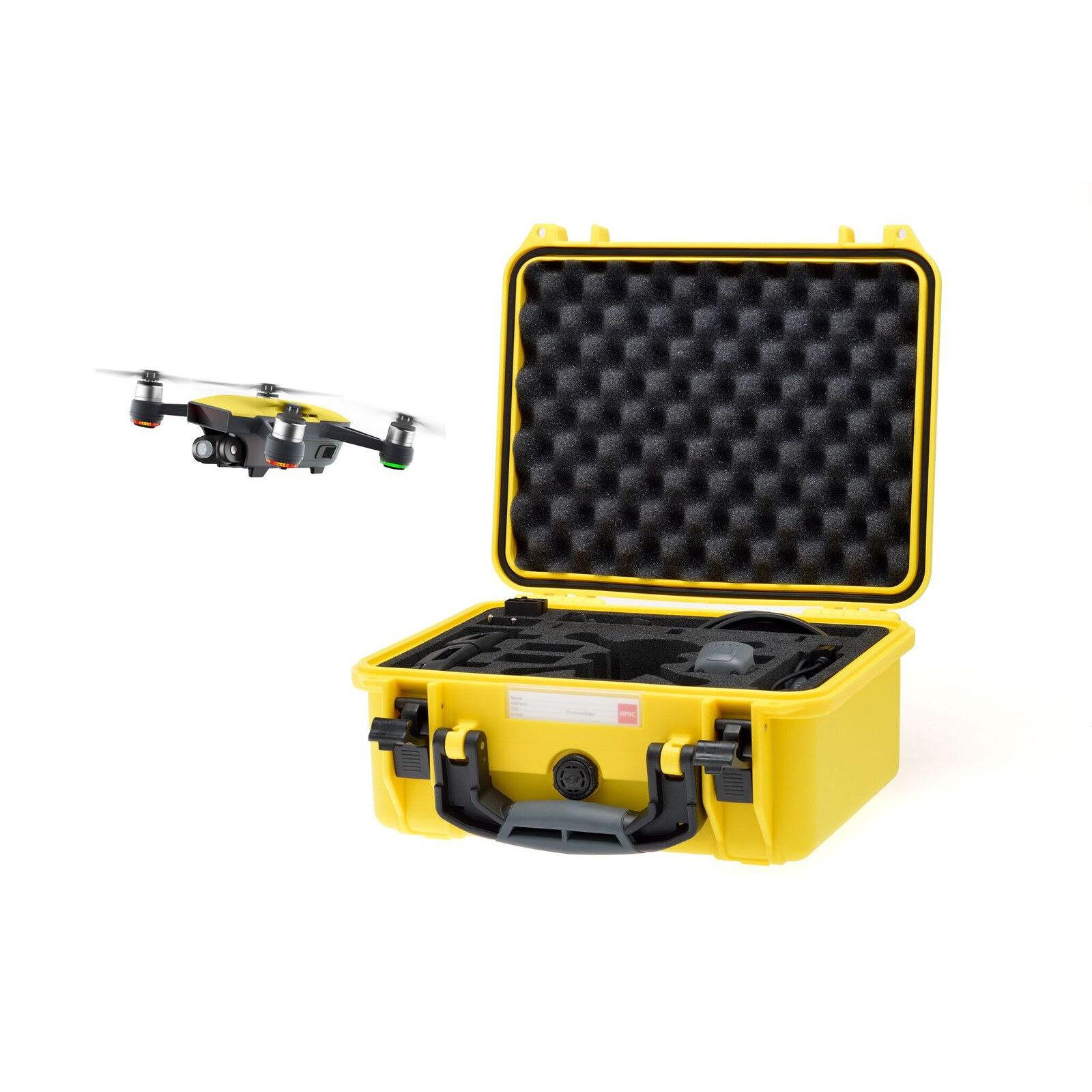 HPRC 2300 koffer voor DJI Spark Geel