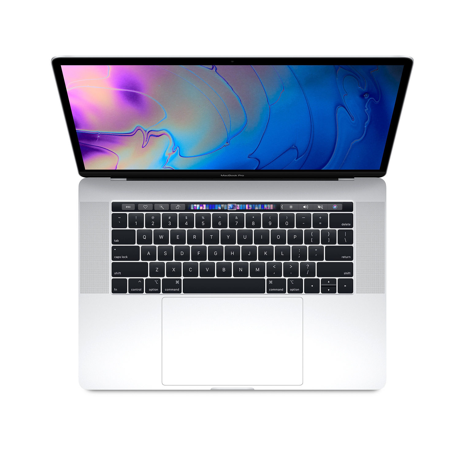 Apple MacBook Pro 15-inch Touch Bar 6-core i7 2.6GHz 512GB Silver (MR972N/A)