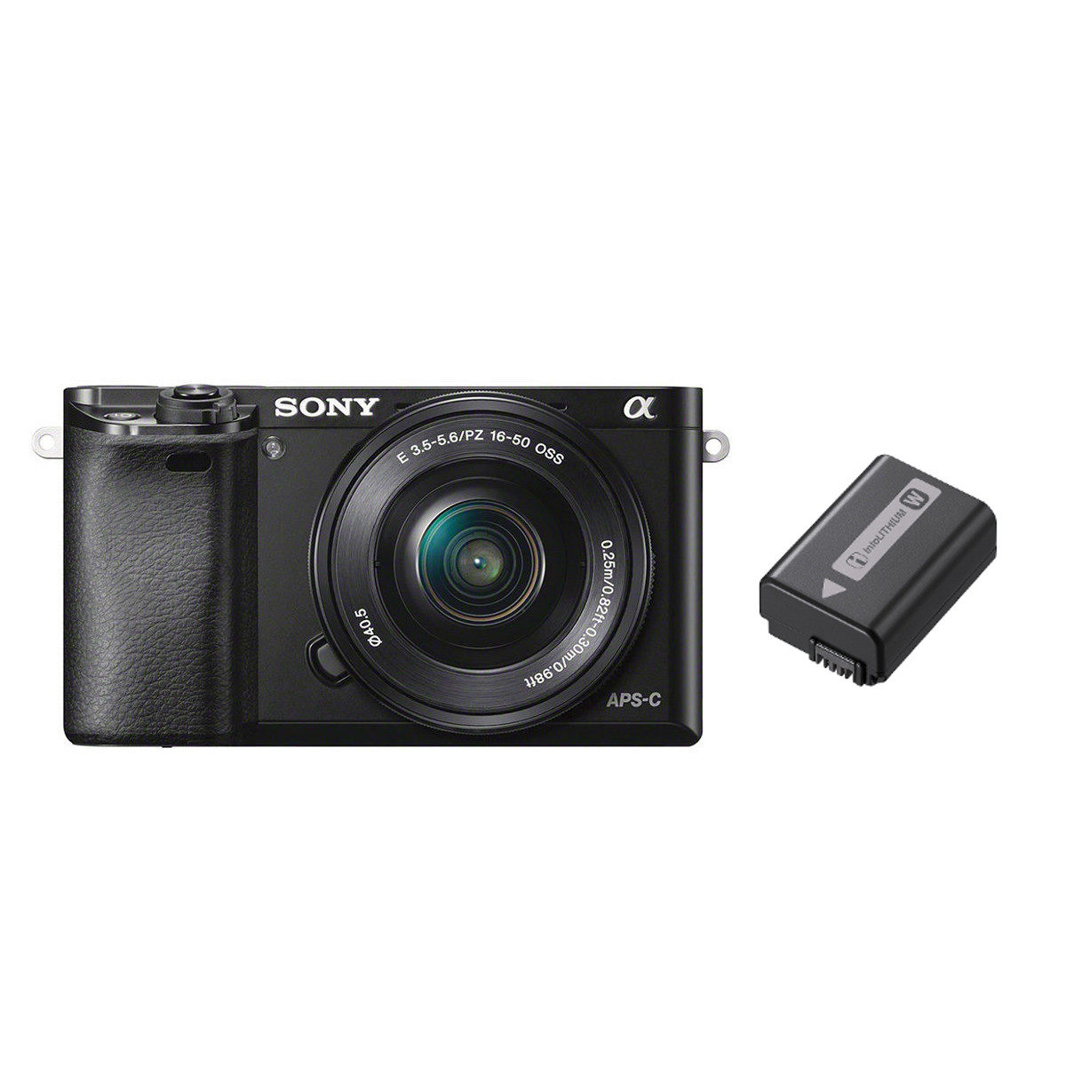 Sony Alpha A6000 ICL systeemcamera Zwart + 16-50mm OSS + extra accu <br/>€ 539.00 <br/> <a href='https://www.cameranu.nl/fotografie/?tt=12190_474631_241358_&r=https%3A%2F%2Fwww.cameranu.nl%2Fnl%2Fp2628085%2Fsony-alpha-a6000-icl-systeemcamera-zwart-16-50mm-oss-extra-accu%3Fchannable%3De10841.MjYyODA4NQ%26utm_campaign%3D%26utm_content%3DSony%2Bsysteemcamera%26utm_source%3DTradetracker%26utm_medium%3Dcpc%26utm_term%3DDigitale%2Bcamera%26apos%3Bs' target='_blank'>naar de winkel</a>
