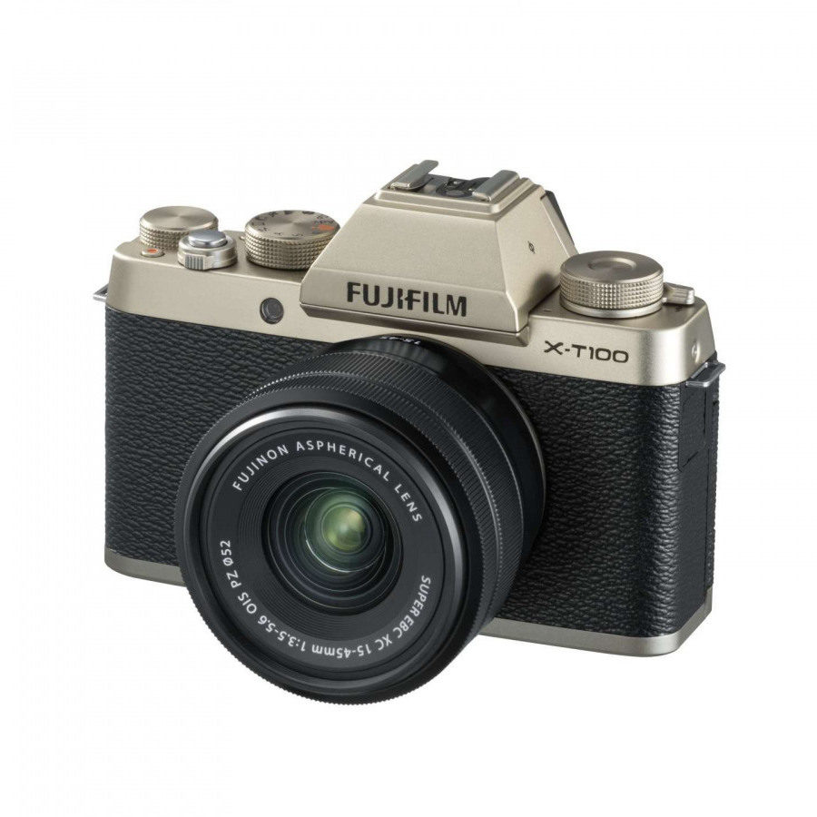 Fujifilm X-T100 systeemcamera Champagne Goud + XC 15-45mm <br/>€ 549.00 <br/> <a href='https://www.cameranu.nl/fotografie/?tt=12190_474631_241358_&r=https%3A%2F%2Fwww.cameranu.nl%2Fnl%2Fp2635375%2Ffujifilm-x-t100-systeemcamera-champagne-goud-xc-15-45mm%3Fchannable%3De10841.MjYzNTM3NQ%26utm_campaign%3D%26utm_content%3DSysteemcamera%26utm_source%3DTradetracker%26utm_medium%3Dcpc%26utm_term%3DDigitale%2Bcamera%26apos%3Bs' target='_blank'>naar de winkel</a>
