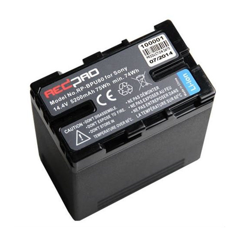 Sony BP-U80 accu (Hedbox RP-BPU80)