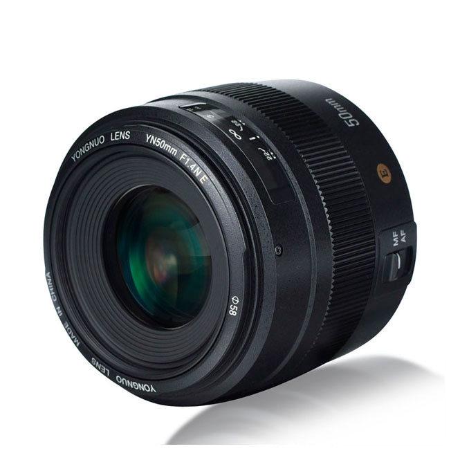 Yongnuo YN 50mm f/1.4 Nikon objectief met korting