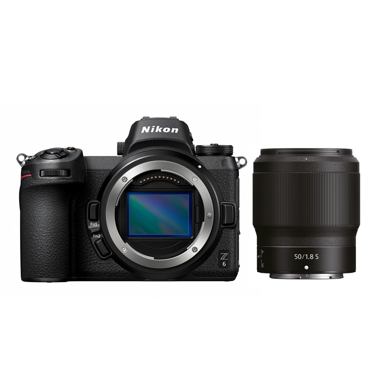Nikon Z6 systeemcamera + 50mm f/1.8 + FTZ adapter