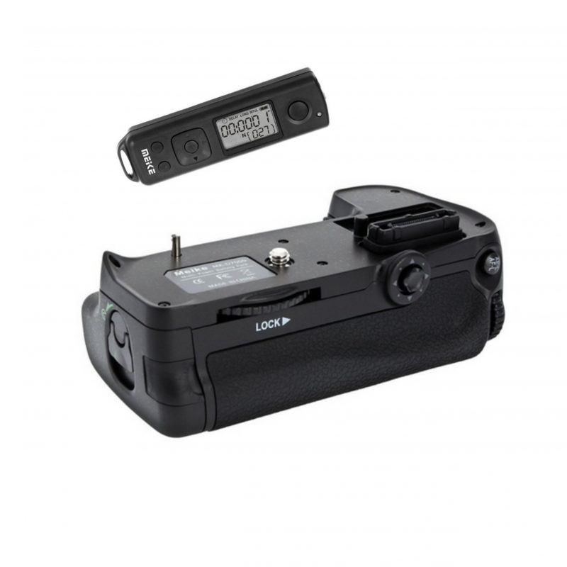 Meike MK-DR7000 Battery Grip voor Nikon D7000 Remote
