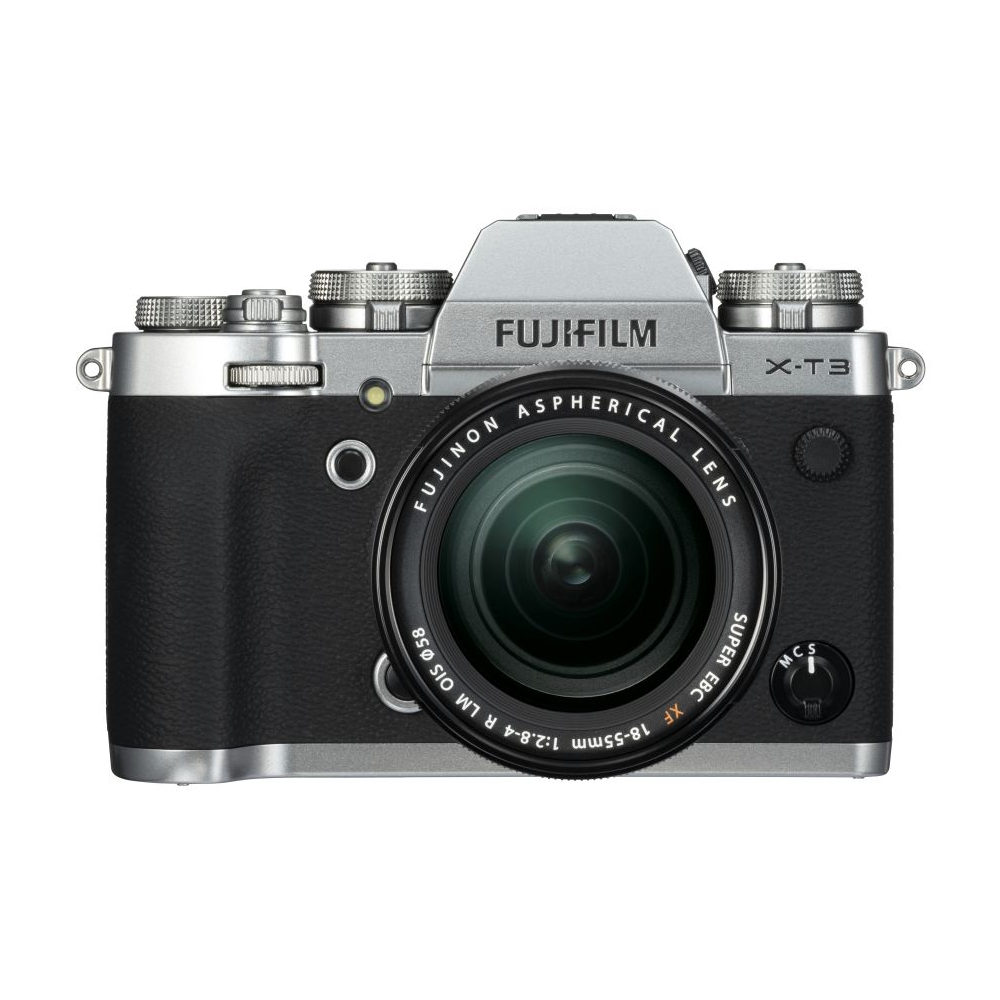 Fujifilm X-T3 systeemcamera Zilver + 18-55mm f/2.8-4.0 OIS Zwart <br/>€ 1899.00 <br/> <a href='https://www.cameranu.nl/fotografie/?tt=12190_474631_241358_&r=https%3A%2F%2Fwww.cameranu.nl%2Fnl%2Fp2690075%2Ffujifilm-x-t3-systeemcamera-zilver-18-55mm-f-2-8-4-0-ois-zwart%3Fchannable%3De10841.MjY5MDA3NQ%26utm_campaign%3D%26utm_content%3DSysteemcamera%26utm_source%3DTradetracker%26utm_medium%3Dcpc%26utm_term%3DDigitale%2Bcamera%26apos%3Bs' target='_blank'>naar de winkel</a>