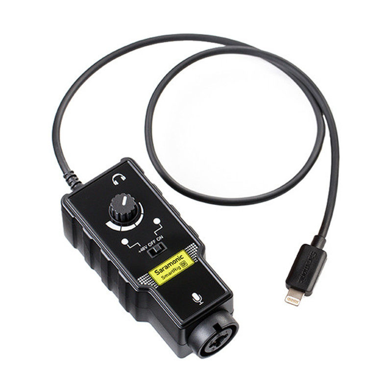 Saramonic SmartRig Di XLR interface Lightning
