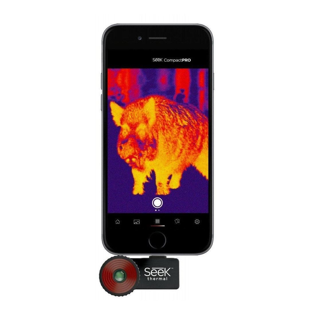 6f6df771a1f Seek Thermal Compact Pro warmtebeeldcamera voor iOS