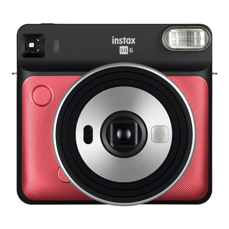 Fujifilm Instax Square SQ6 instant camera Ruby Red