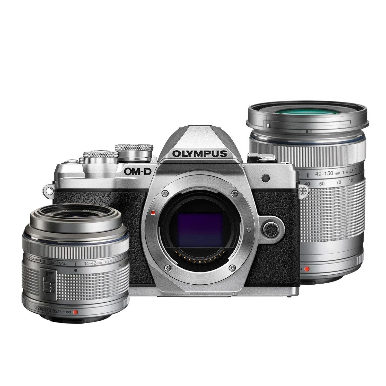 Olympus OM-D E-M10 Mark III systeemcamera Zilver + 14-42mm + 40-150mm