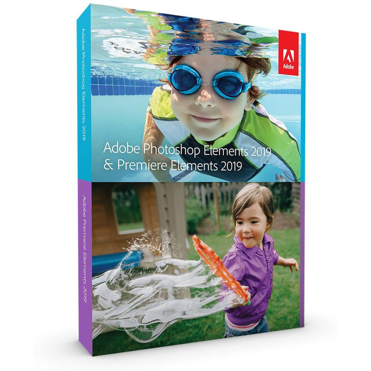 Afbeelding van Adobe Photoshop Elements 2019 + Premiere UK Mac/Windows