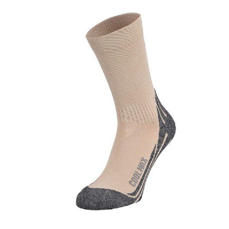Afbeelding van Care Plus Bugsox Adventure Khaki maat 41 43 sokken