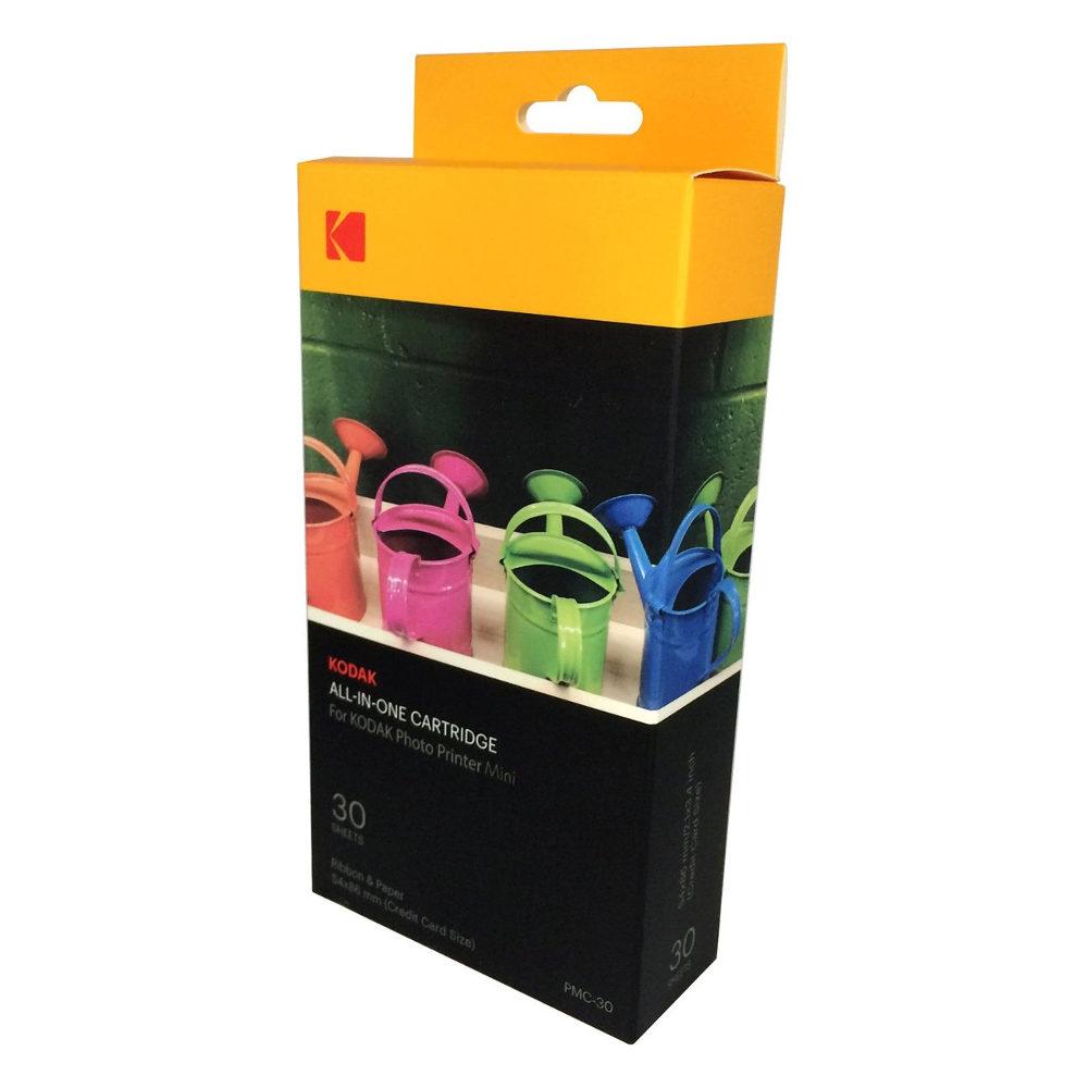 Kodak PMC-30 All-in-One Cartridge 30 vel voor Photo Printer Mini