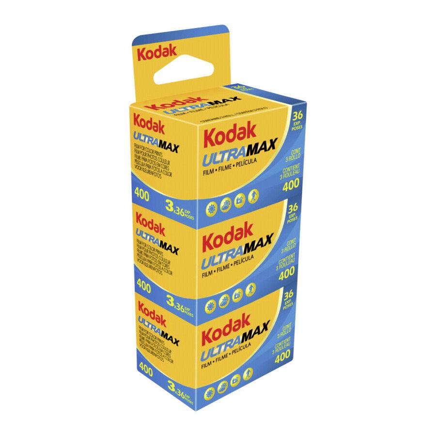 Kodak Ultra Max 400 135/36 3-pack met korting