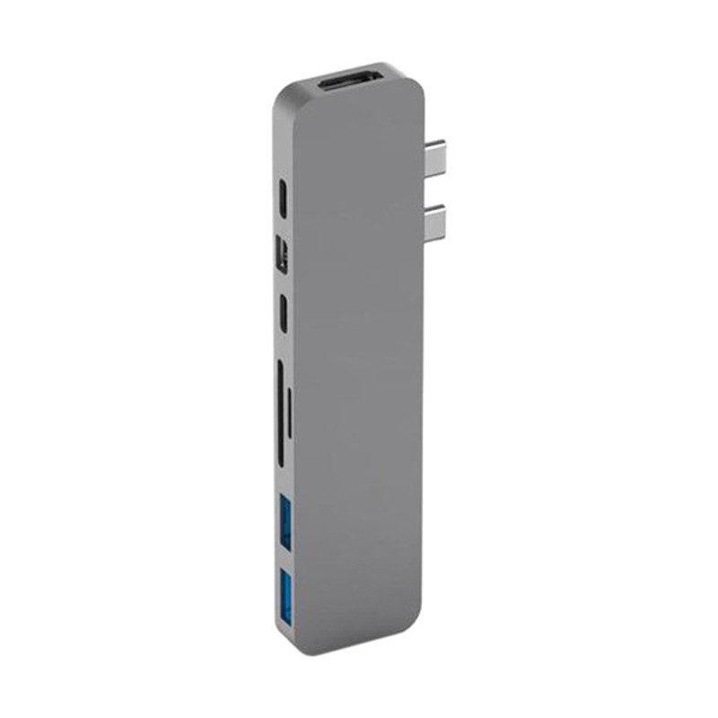 Hyper Pro hub voor USB-C Space Gray
