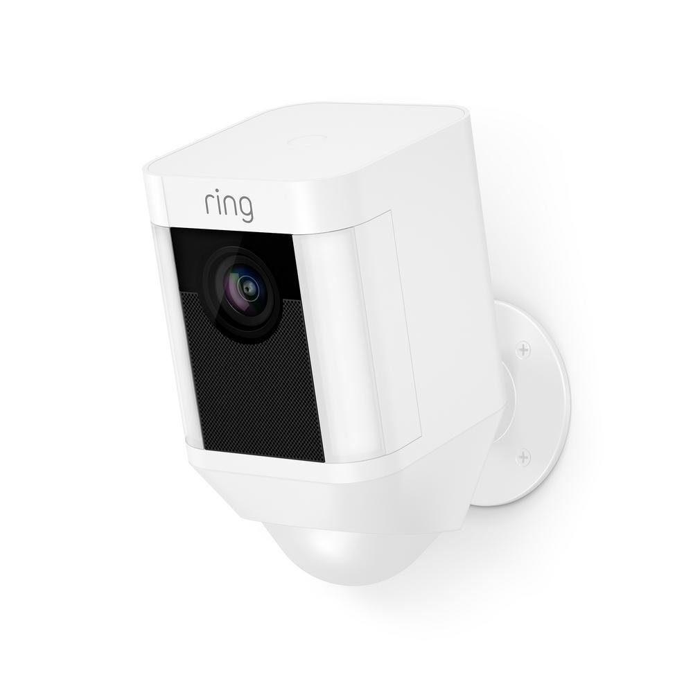 Ring Spotlight Cam met Batterij Wit
