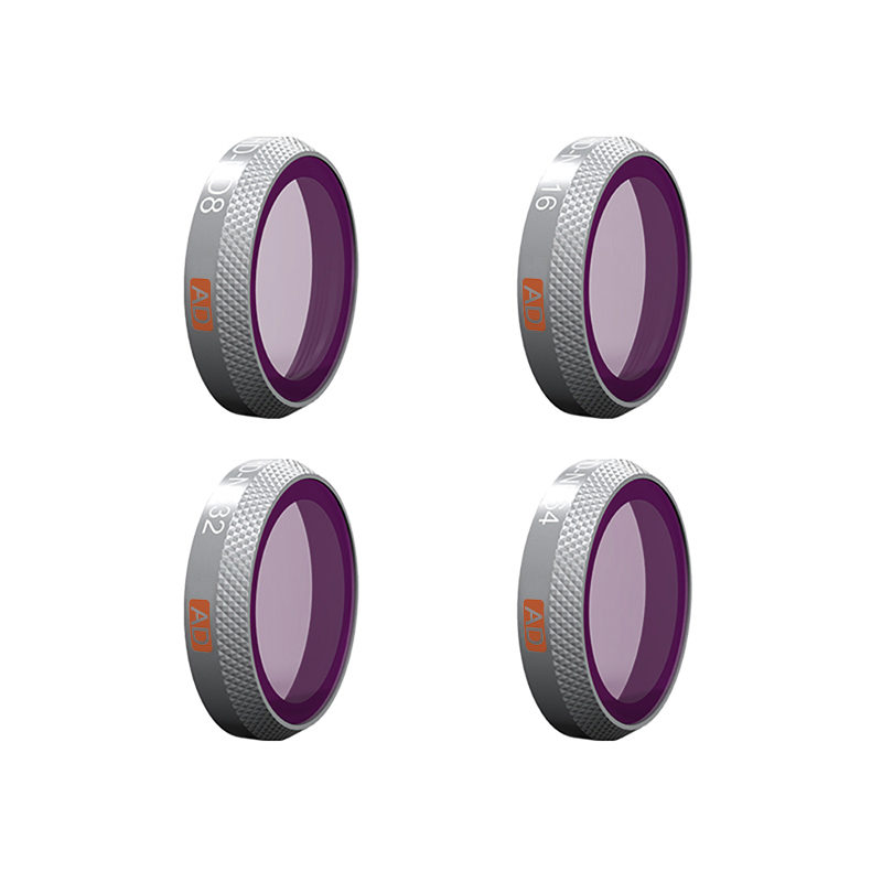 Pgytech ND-Filters Advanced voor DJI Mavic 2 Zoom - 4 stuks