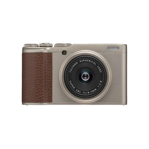 Fujifilm FinePix XF10 compact camera Champagne