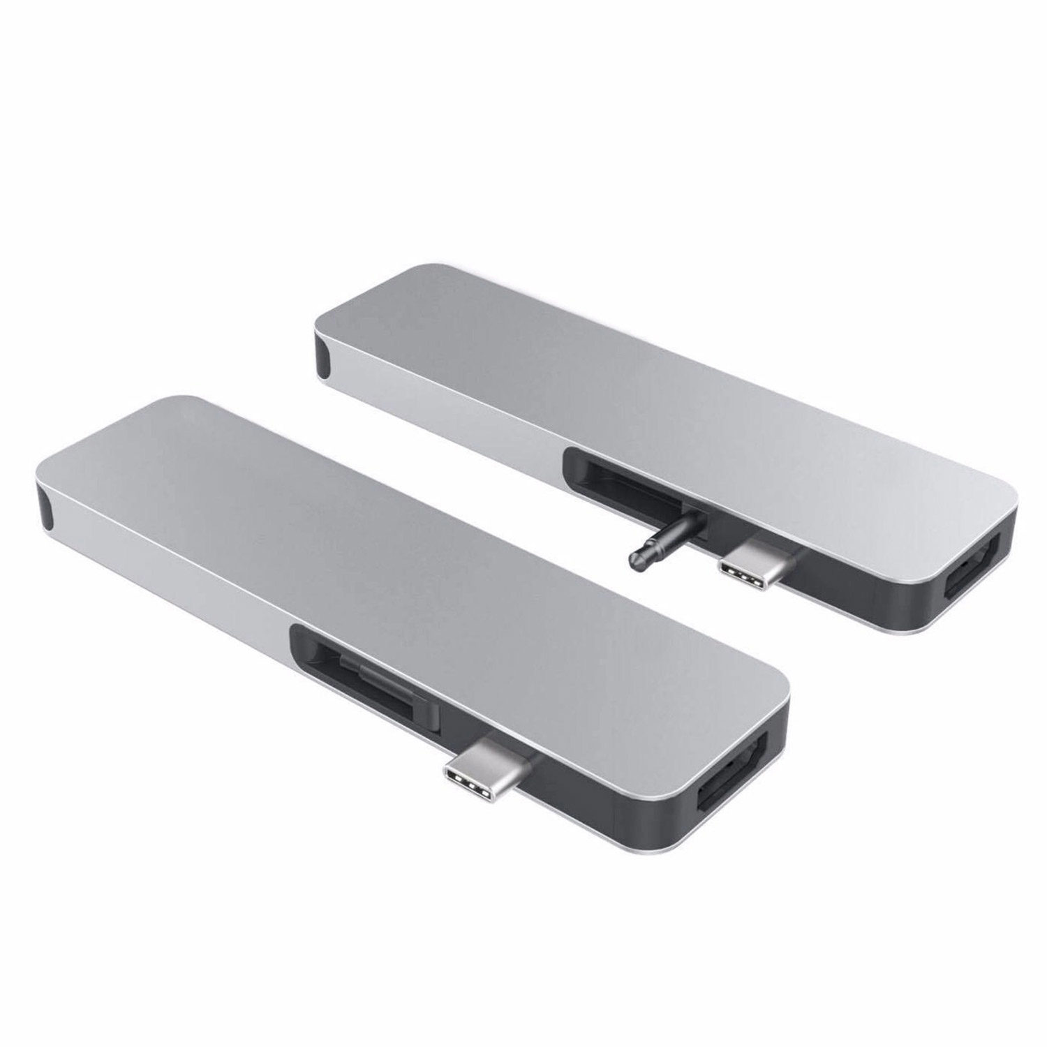 Hyper Solo hub for Macbook & USB-C devices Silver