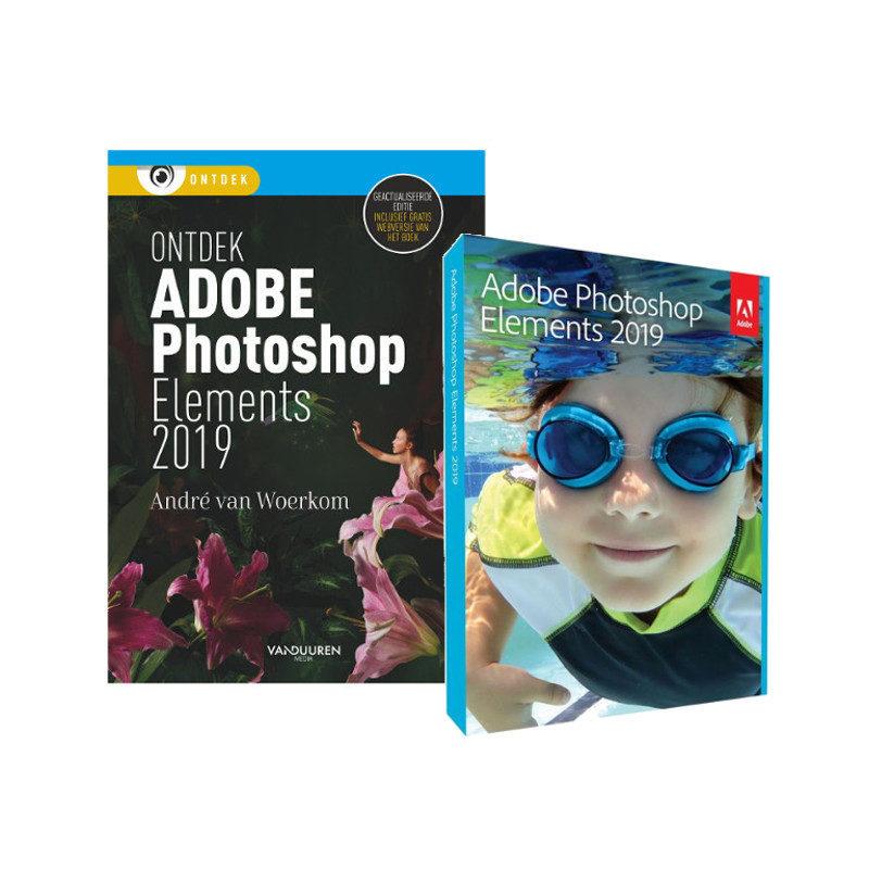 Afbeelding van Adobe Photoshop Elements 2019 UK Mac/Windows + Ontdek