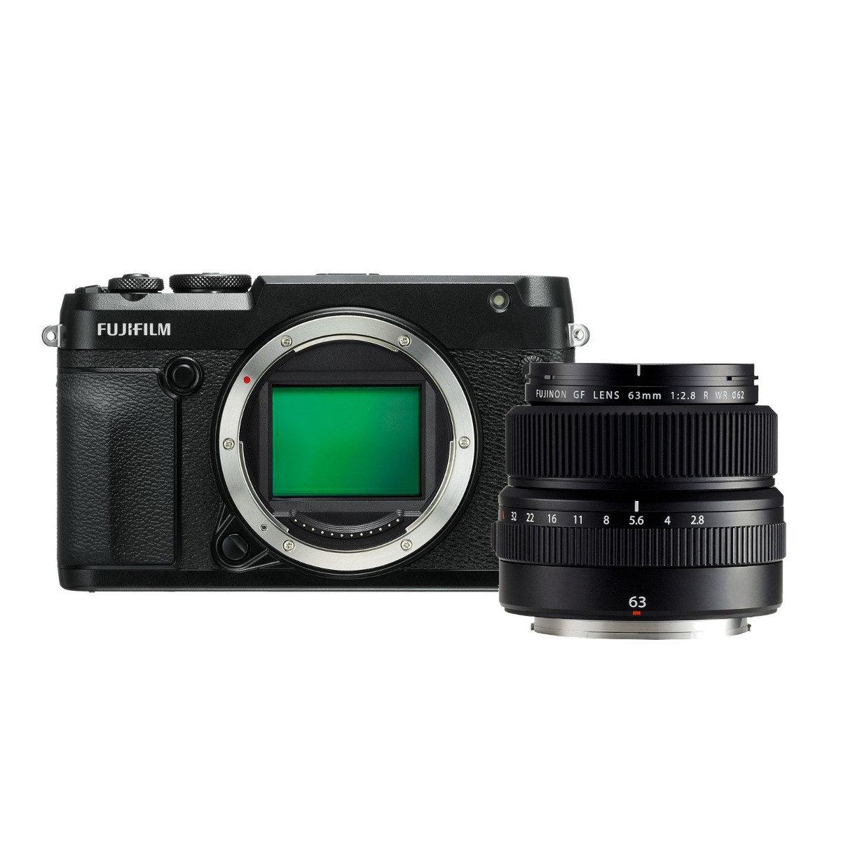 Fujifilm GFX 50R middenformaat camera + GF63mm