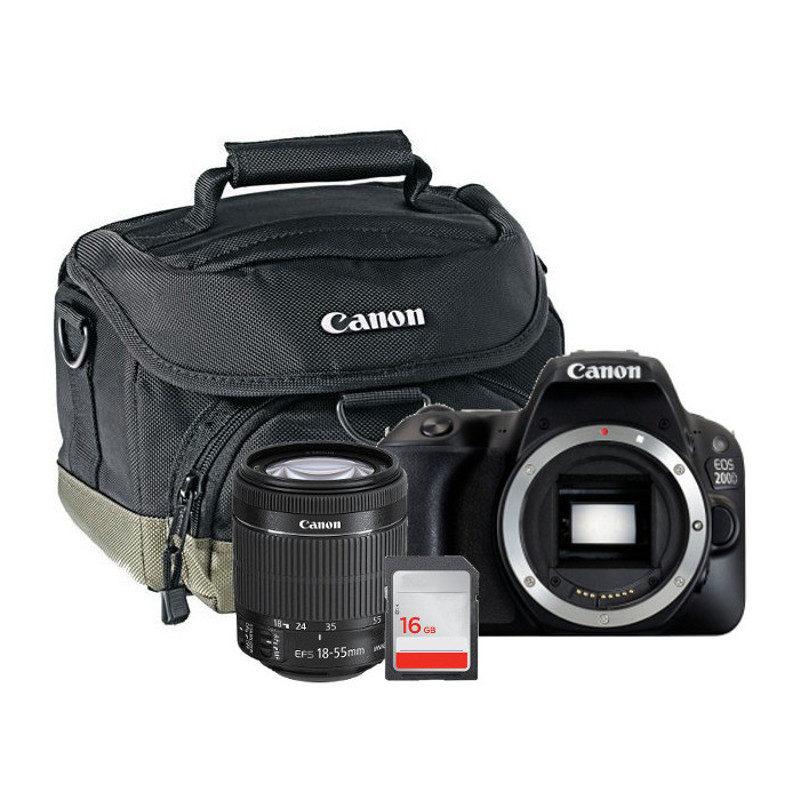 097d090970d Canon 200D + 18-55mm + tas + 16gb - open box | CameraNU.nl
