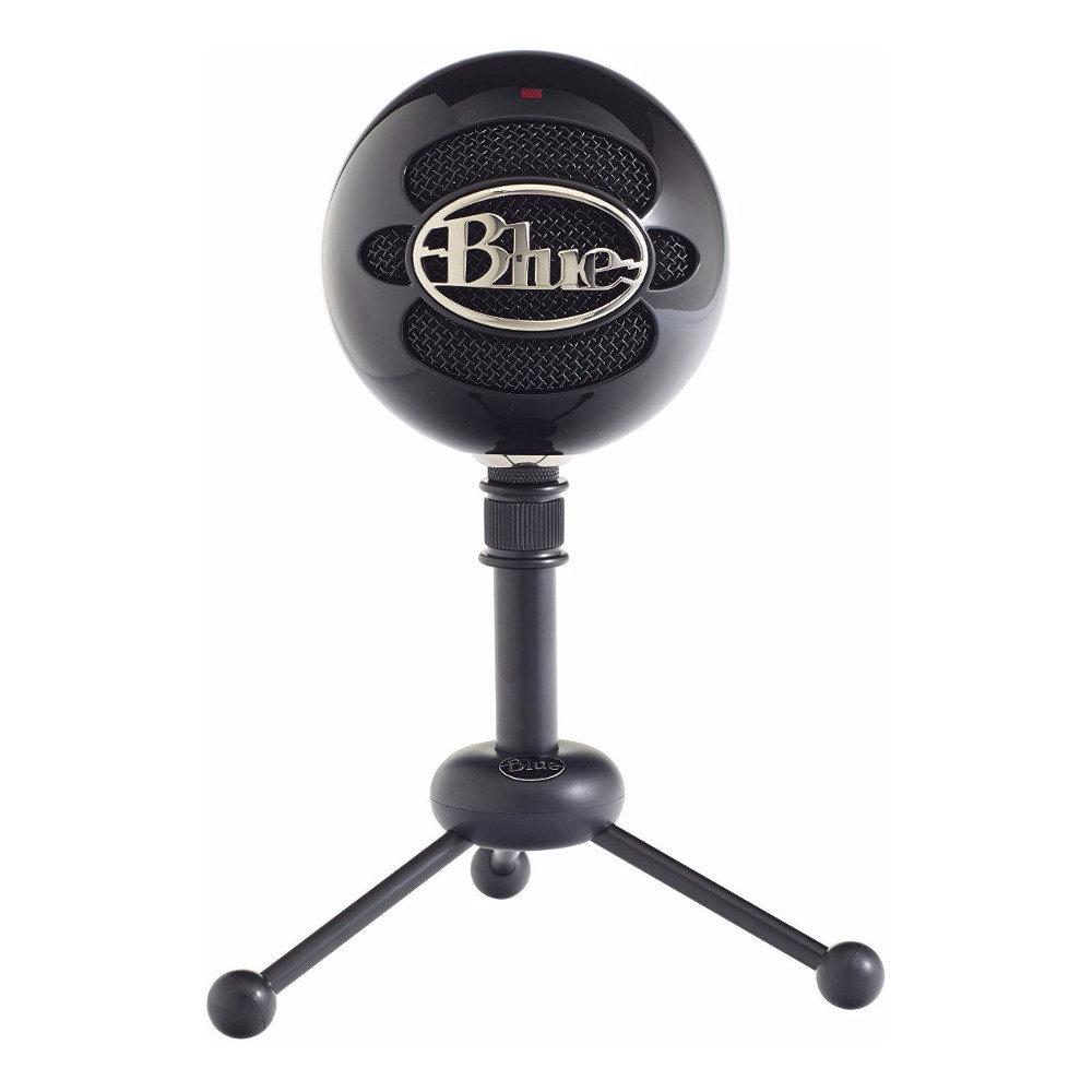 Afbeelding van Blue Snowball USB Microphone Gloss Black