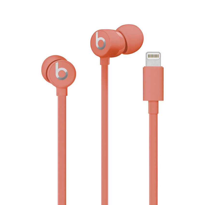 Beats urBeats3 Earphones met Lightning Connector Coral