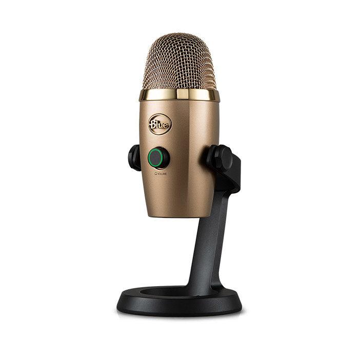 Blue Yeti Nano USB Microphone Cubano Gold