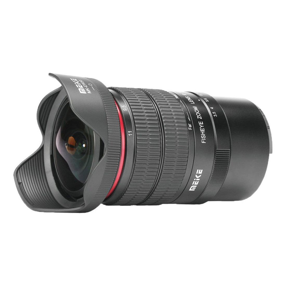 Meike MK-6-11mm f/3.5 Fisheye Canon EF-M objectief met korting