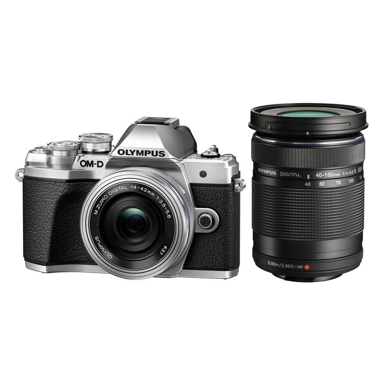 Olympus OM-D E-M10 Mark III systeemcamera Zilver + 14-42mm + 40-150mm Zwart <br/>€ 849.00 <br/> <a href='https://www.cameranu.nl/fotografie/?tt=12190_474631_241358_&r=https%3A%2F%2Fwww.cameranu.nl%2Fnl%2Fp2148905%2Folympus-om-d-e-m10-mark-iii-systeemcamera-zilver-14-42mm-40-150mm-zwart%3Fchannable%3De10841.MjE0ODkwNQ%26utm_campaign%3D%26utm_content%3DOM-D%2Bserie%26utm_source%3DTradetracker%26utm_medium%3Dcpc%26utm_term%3DDigitale%2Bcamera%26apos%3Bs' target='_blank'>naar de winkel</a>
