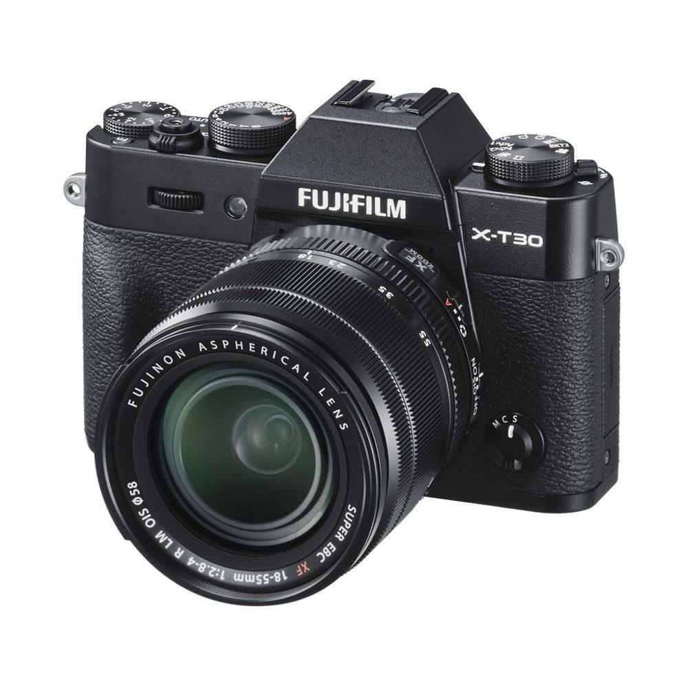 Fujifilm X-T30 systeemcamera Zwart + 18-55mm f/2.8-4.0 OIS <br/>€ 1249.00 <br/> <a href='https://www.cameranu.nl/fotografie/?tt=12190_474631_241358_&r=https%3A%2F%2Fwww.cameranu.nl%2Fnl%2Fp2947985%2Ffujifilm-x-t30-systeemcamera-zwart-18-55mm-f-2-8-4-0-ois%3Fchannable%3De10841.Mjk0Nzk4NQ%26utm_campaign%3D%26utm_content%3DSysteemcamera%26utm_source%3DTradetracker%26utm_medium%3Dcpc%26utm_term%3DDigitale%2Bcamera%26apos%3Bs' target='_blank'>naar de winkel</a>
