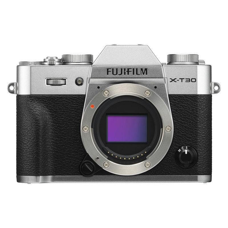 Fujifilm X-T30 systeemcamera Body Zilver <br/>€ 899.00 <br/> <a href='https://www.cameranu.nl/fotografie/?tt=12190_474631_241358_&r=https%3A%2F%2Fwww.cameranu.nl%2Fnl%2Fp2949175%2Ffujifilm-x-t30-systeemcamera-body-zilver%3Fchannable%3De10841.Mjk0OTE3NQ%26utm_campaign%3D%26utm_content%3DSysteemcamera%26utm_source%3DTradetracker%26utm_medium%3Dcpc%26utm_term%3DDigitale%2Bcamera%26apos%3Bs' target='_blank'>naar de winkel</a>