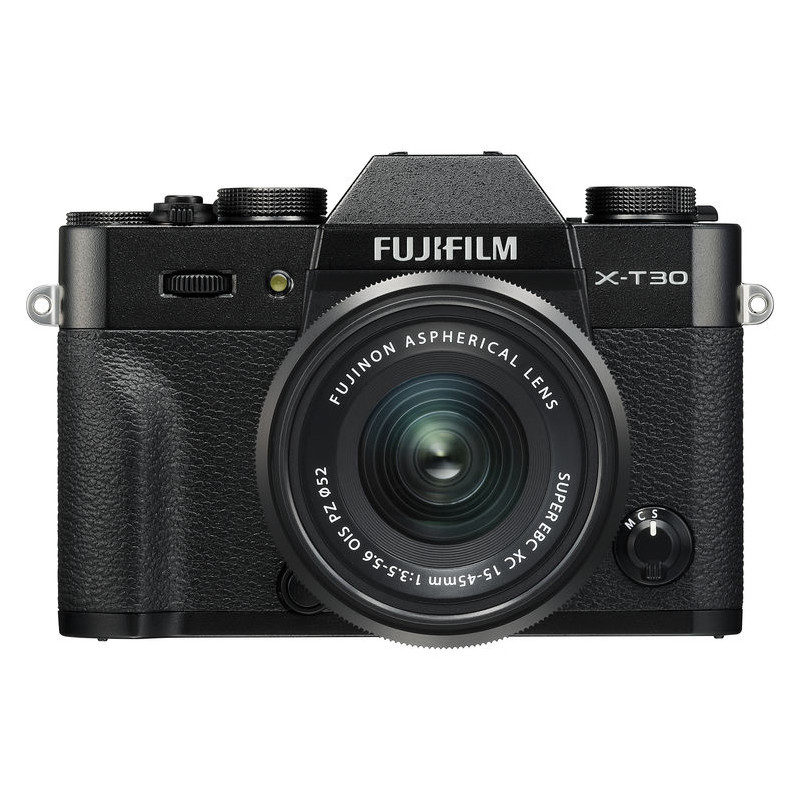 Fujifilm X-T30 systeemcamera Zwart + XC 15-45mm f/3.5-5.6 OIS PZ objectief <br/>€ 929.00 <br/> <a href='https://www.cameranu.nl/fotografie/?tt=12190_474631_241358_&r=https%3A%2F%2Fwww.cameranu.nl%2Fnl%2Fp2949105%2Ffujifilm-x-t30-systeemcamera-zwart-xc-15-45mm-f-3-5-5-6-ois-pz-objectief%3Fchannable%3D002a5969640032393439313035f2%26utm_campaign%3D%26utm_content%3DSysteemcamera%26utm_source%3DTradetracker%26utm_medium%3Dcpc%26utm_term%3DDigitale%2Bcamera%26apos%3Bs' target='_blank'>naar de winkel</a>