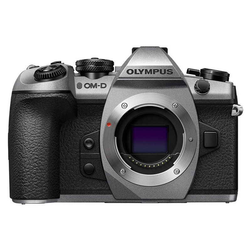 56080dcc27a Olympus OM-D E-M1 Mark II systeemcamera body Limited Edition Zilver - image