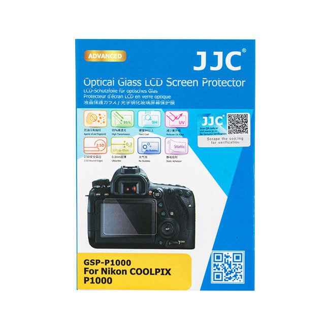 JJC GSP-P1000 Optical Glass Protector