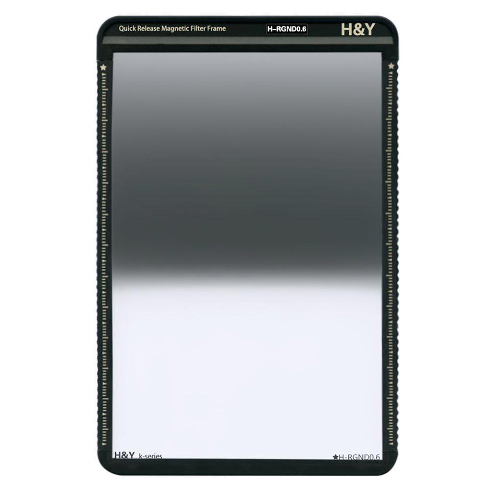 H&Y K-Series ND4 0.6 100x150mm Reverse Grijsverloopfilter