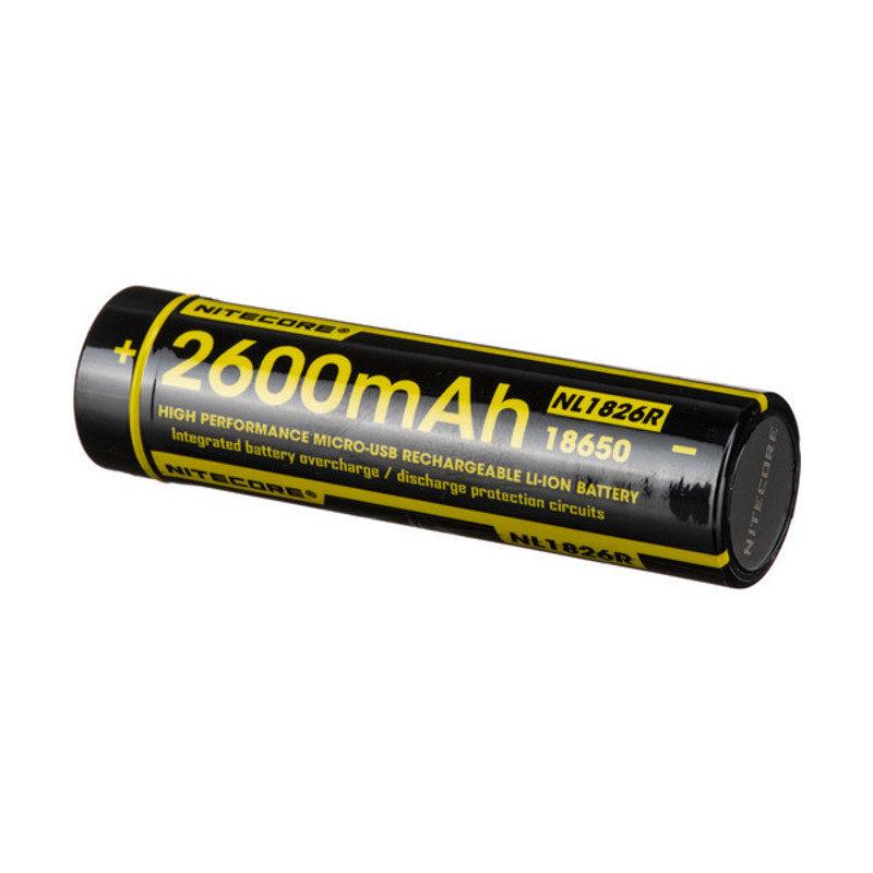Nitecore NL1826R batterij 2600mAh