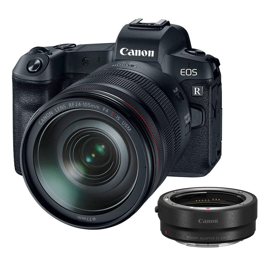 Canon EOS R systeemcamera Zwart + RF 24-105mm f/4.0L + EF-adapter open-box <br/>€ 2499.00 <br/> <a href='https://www.cameranu.nl/fotografie/?tt=12190_474631_241358_&r=https%3A%2F%2Fwww.cameranu.nl%2Fnl%2Fp2975155%2Fcanon-eos-r-systeemcamera-zwart-rf-24-105mm-f-4-0l-ef-adapter-open-box%3Fchannable%3De10841.Mjk3NTE1NQ%26utm_campaign%3D%26utm_content%3DEOS%2BR%2Bsysteemcamera%26utm_source%3DTradetracker%26utm_medium%3Dcpc%26utm_term%3DDigitale%2Bcamera%26apos%3Bs' target='_blank'>naar de winkel</a>