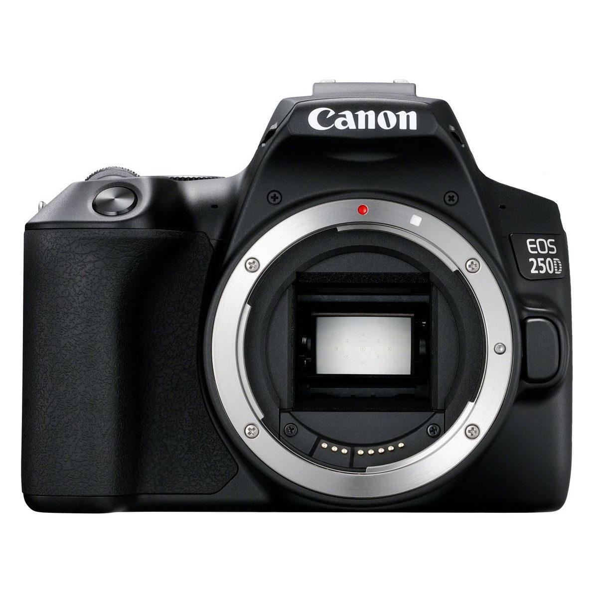 Canon EOS 250D DSLR Body Zwart <br/>€ 599.00 <br/> <a href='https://www.cameranu.nl/fotografie/?tt=12190_474631_241358_&r=https%3A%2F%2Fwww.cameranu.nl%2Fnl%2Fp2978195%2Fcanon-eos-250d-dslr-body-zwart%3Fchannable%3D002a596964003239373831393587%26utm_campaign%3D%26utm_content%3DEOS%2Bspiegelreflex%26utm_source%3DTradetracker%26utm_medium%3Dcpc%26utm_term%3DDigitale%2Bcamera%26apos%3Bs' target='_blank'>naar de winkel</a>