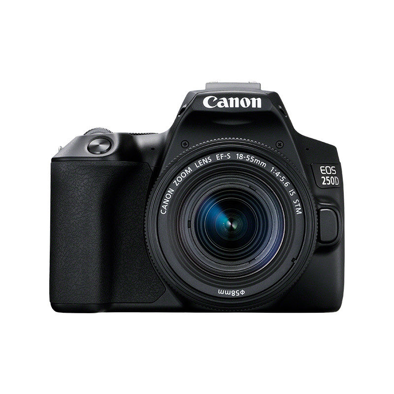 Canon EOS 250D DSLR Zwart + 18-55 IS STM